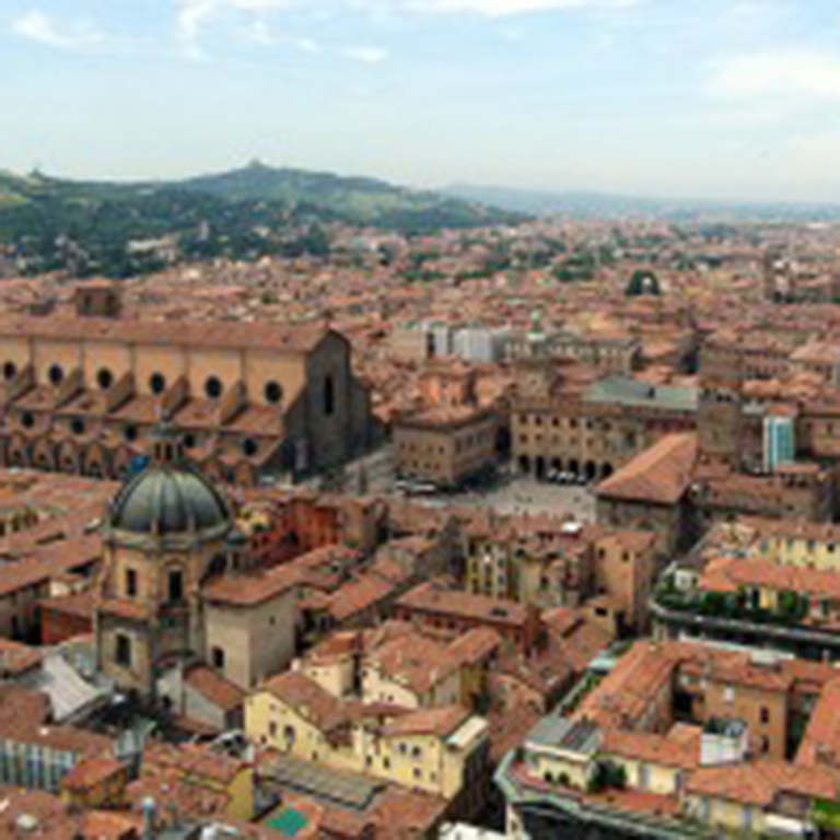 Image of Bologna, Italy.